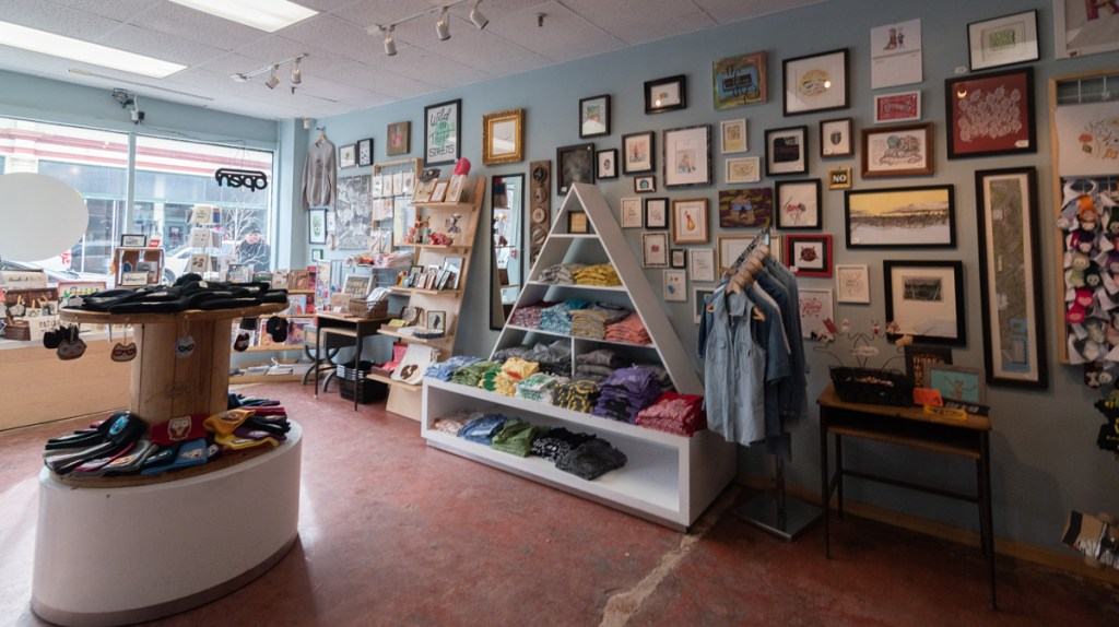 Arty boutiques in Allentown, Buffalo, New York