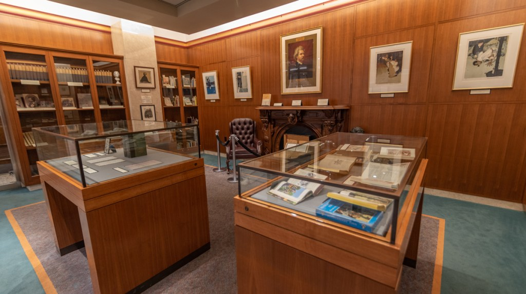 The Mark Twain Room at the Buffalo & Erie County Public Library