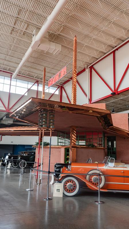 The Pierce-Arrow Transport Museum in Buffalo, New York
