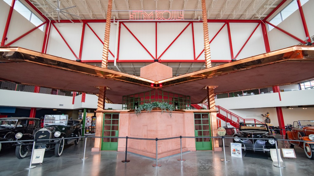 The Frank Lloyd Wright Service Station at Buffalo,, New York