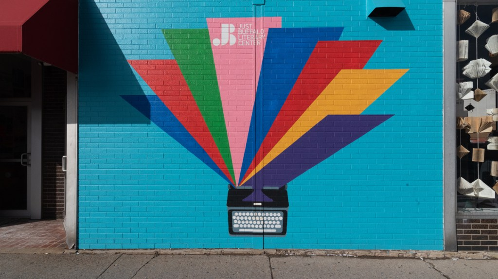 Buffalo, New York has a vibrant public art scene