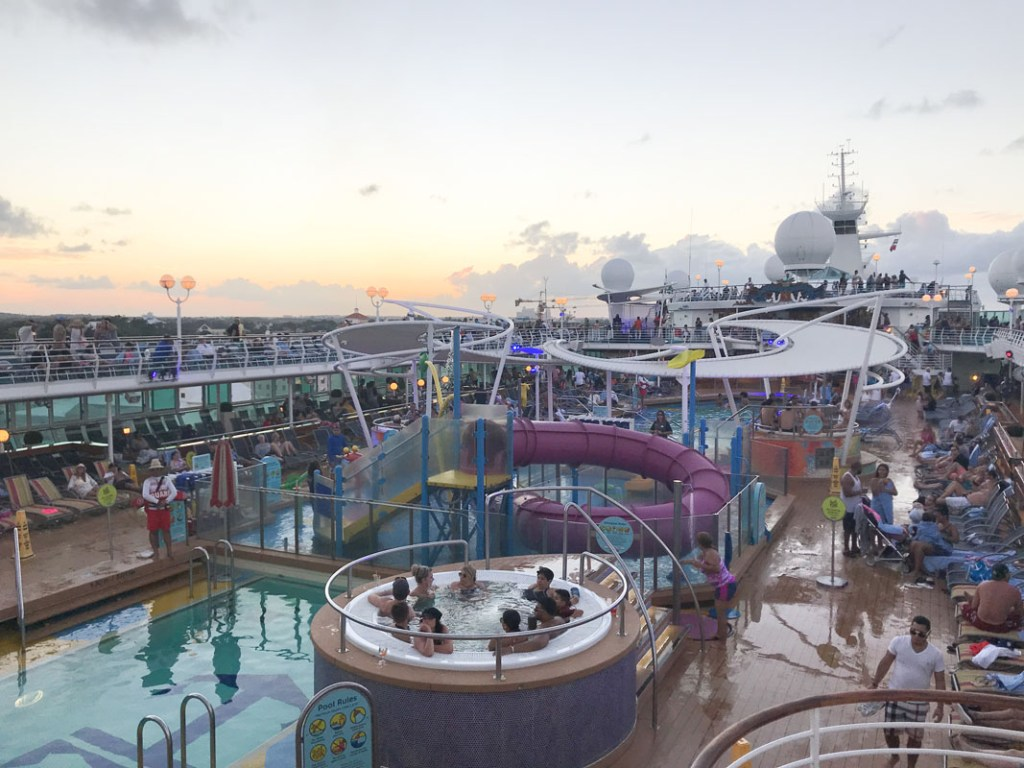 On the Royal Caribbean Majesty of the Seas Cruise life is easy to get used to.