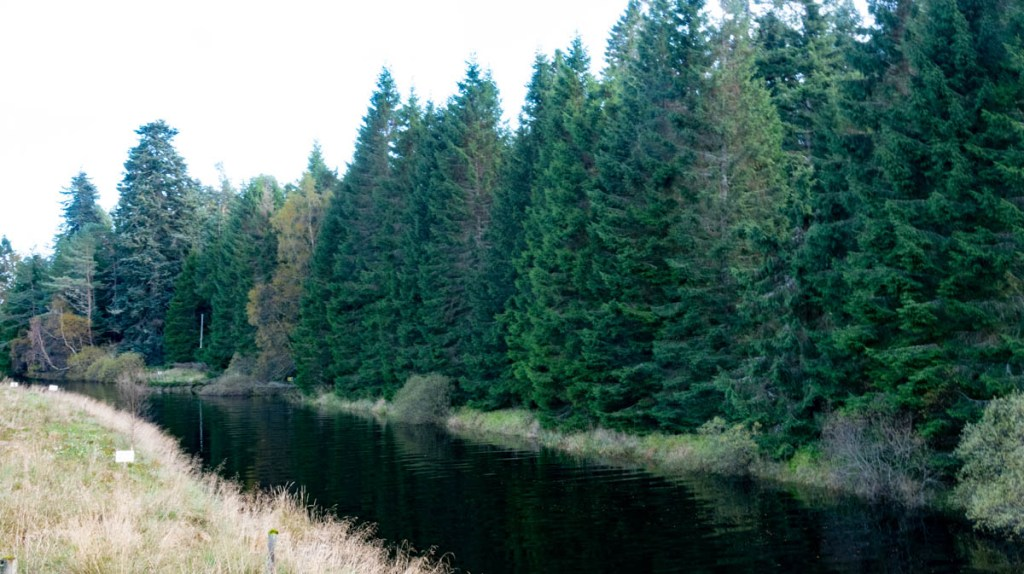 The River Pattack is a quiet waterway we found on our Scotland Road Trip