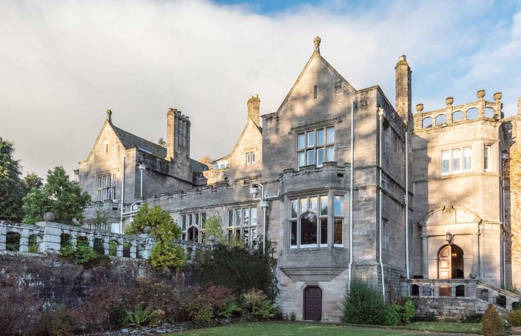 A fitting end to a Scotland Road Trip, the Kildrummy Castle Hotel is an old hunting lodge