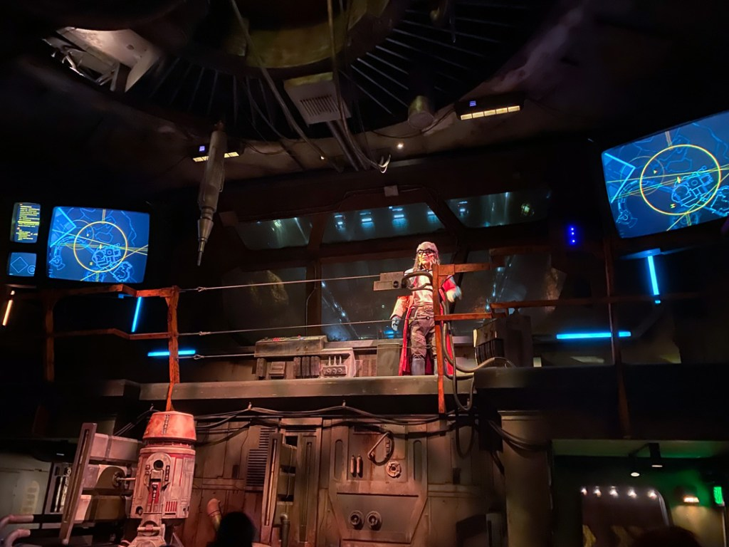 On Star Wars Smugglers Run at Disneyworld you're hired to fly the Millennium Falcon