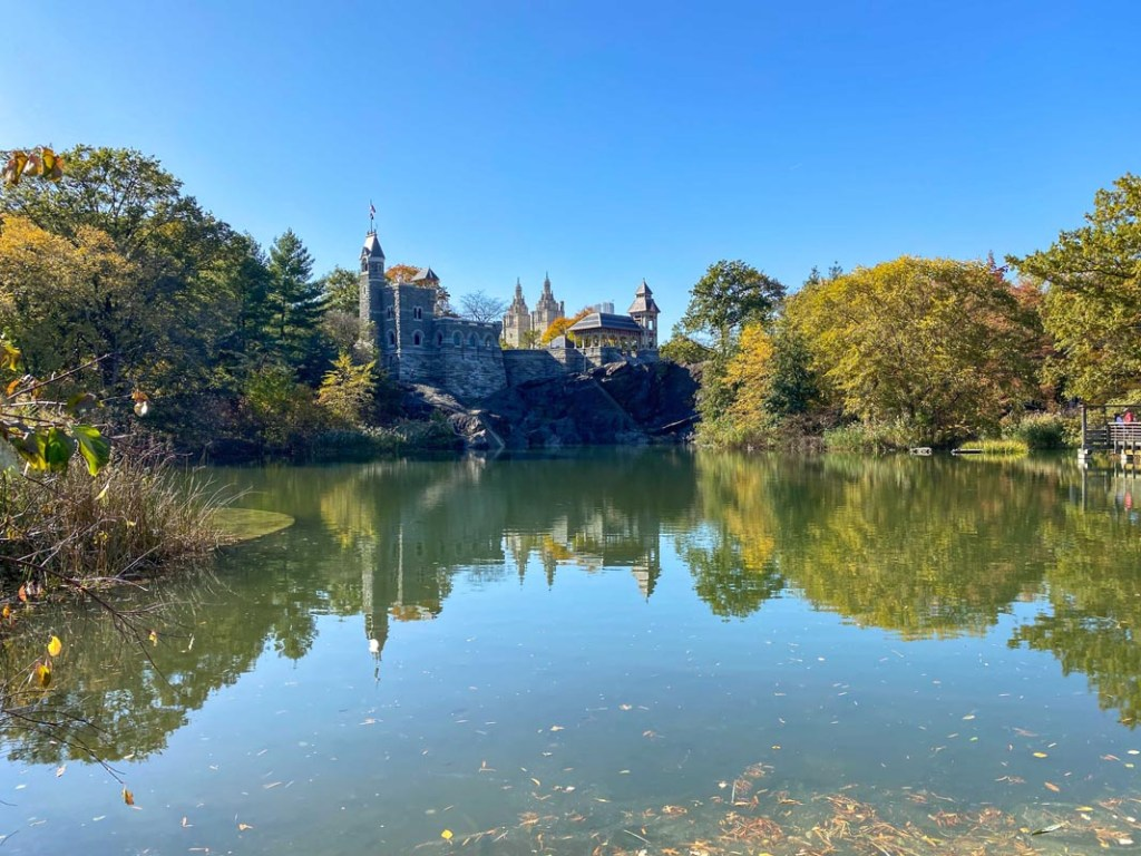 The Belvedere Castle in Central Park provides a perfect backdrop to experience autumn in NYC.
