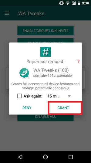 Download WA Tweaks