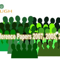 Conference Papers 2007, 2005, 2004