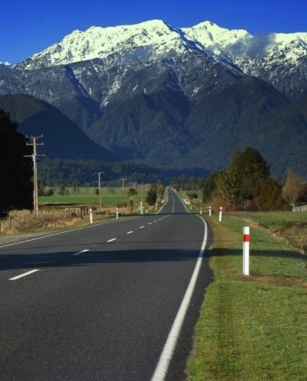 New Zealand Highways to Scenic Places