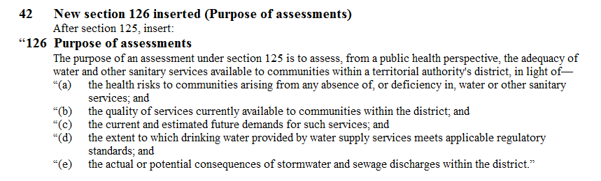 New section 126 inserted  Purpose of assessments