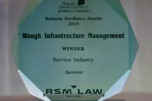 Waugh Infrastructure Management Wins Services Category of South Canterbury Business Excellence Awards