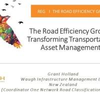 Road Efficiency Group: Transforming Transportation Asset Management