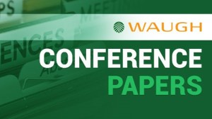 waugh infrastructure management conference papers