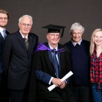 My Master of Engineering Graduation at Auckland University