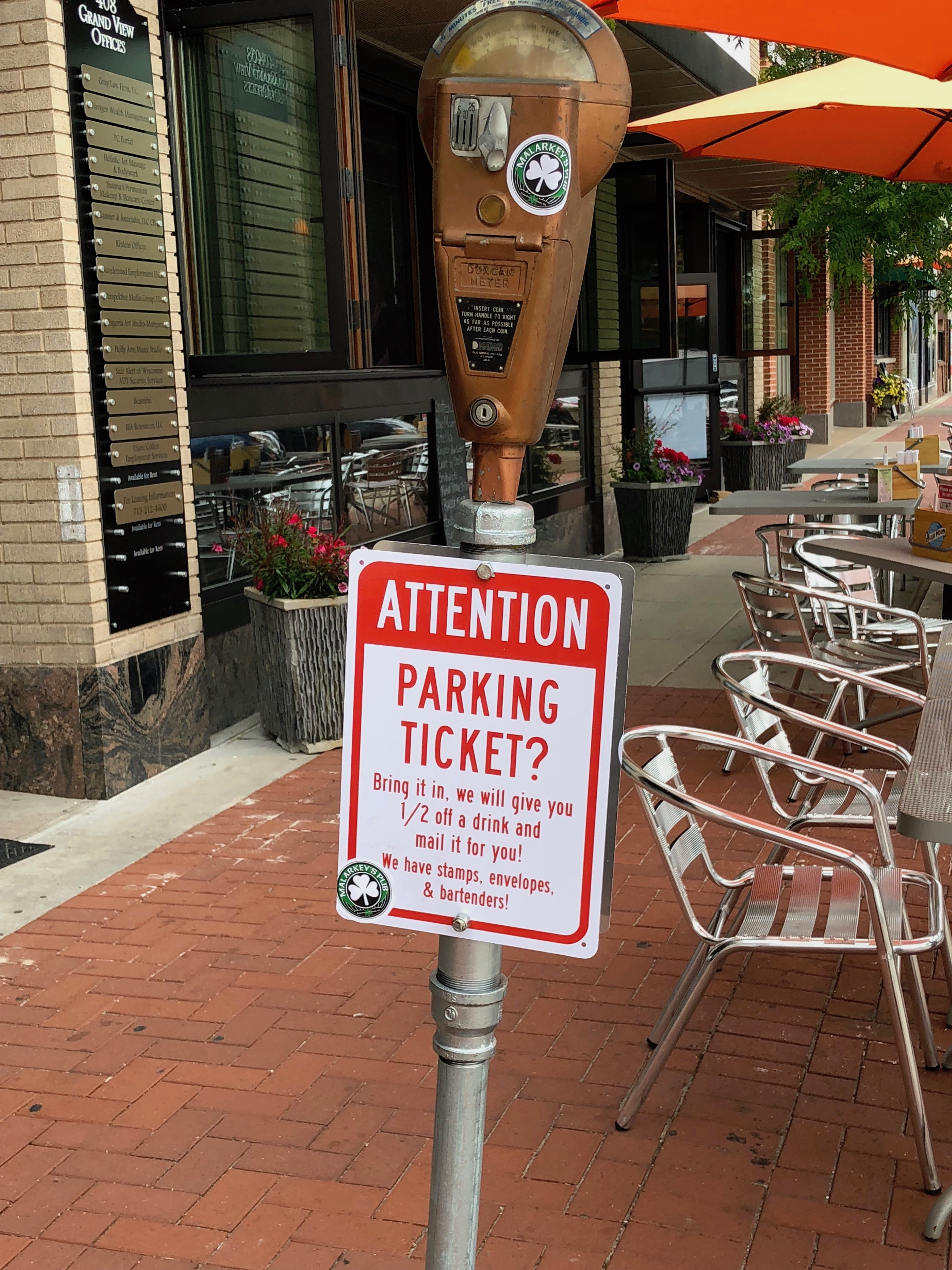 Downtown business owner takes aim at inconsistent parking