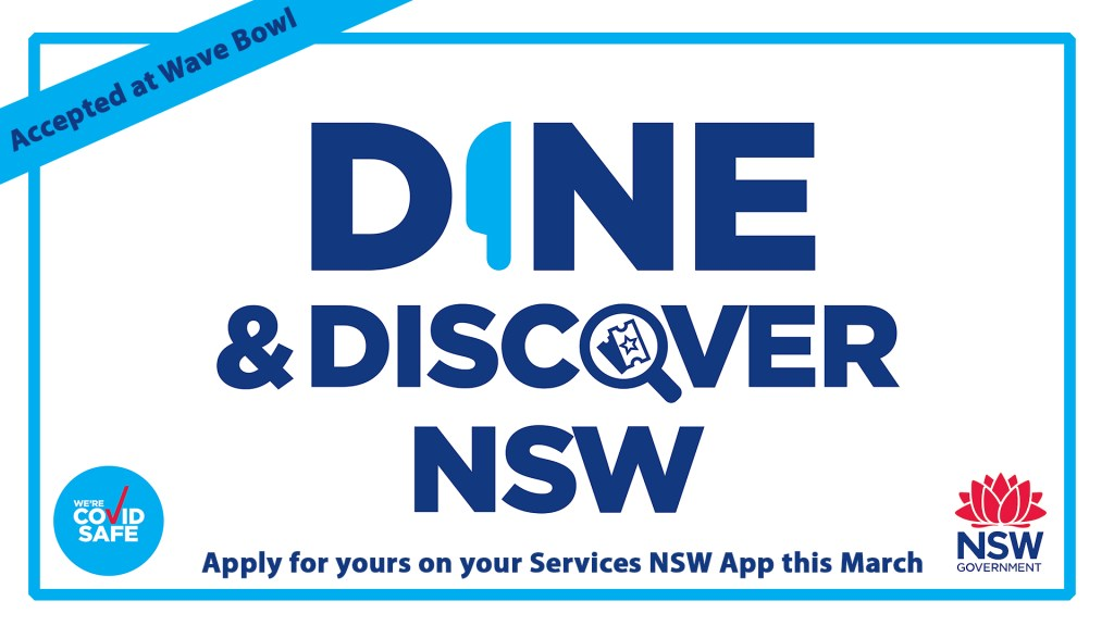 Dine & Discover at Wave Bowl