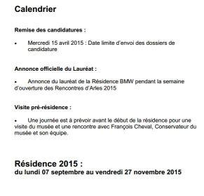 calendrier mecenat BMW