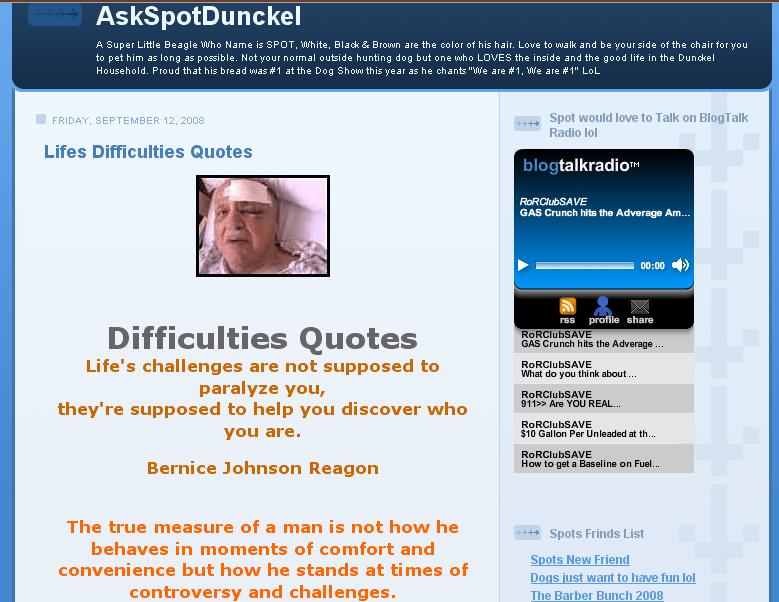 Ask Spot Dunckel