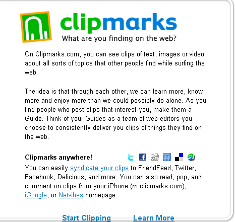 Clip Marks