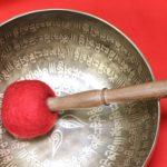 sound healing red mallet