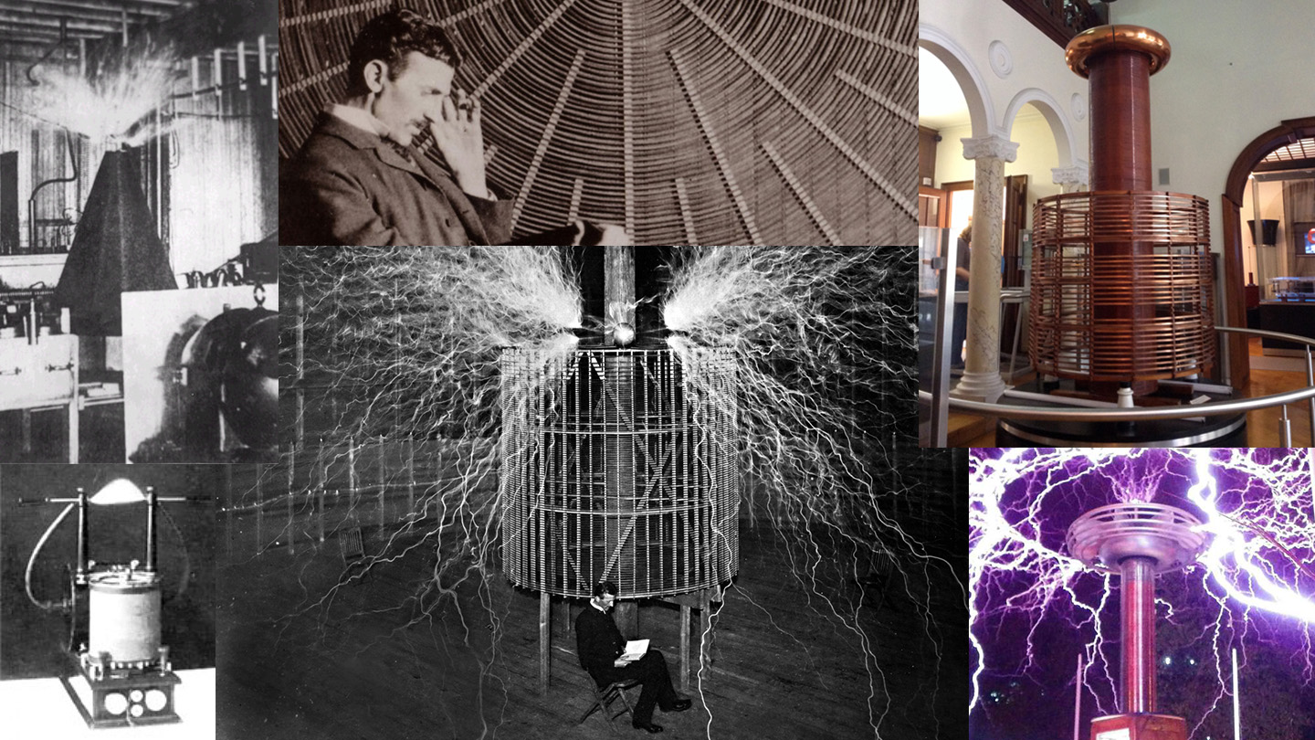 hight resolution of history of the tesla coil and its geometries