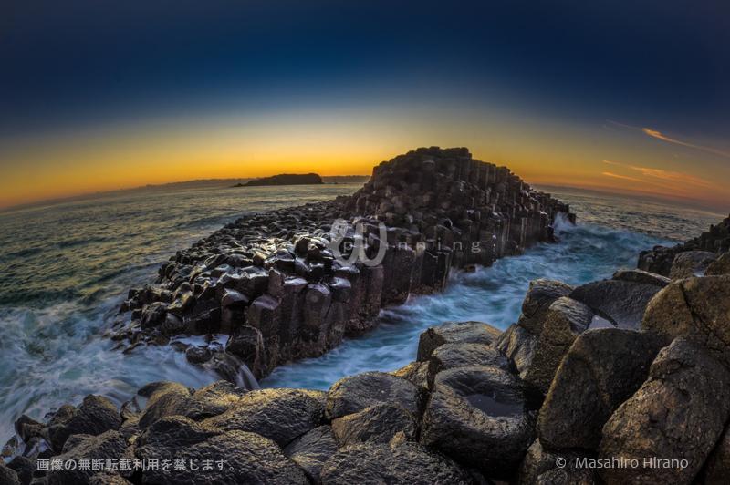 自然が創り出した岩のアート