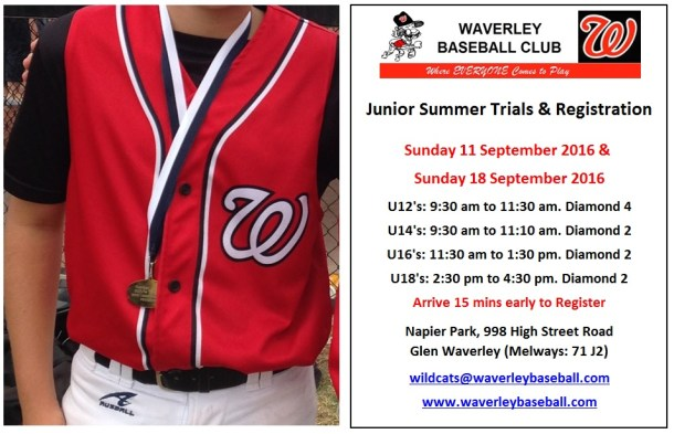 Junior Tryouts 2016