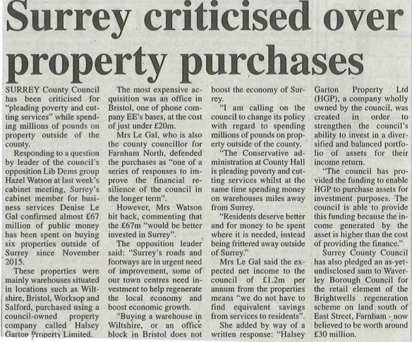 16.09.29 - Surrey criticised over property purchases copy.jpg