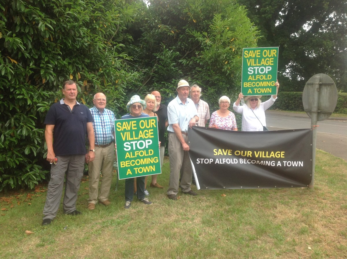 POW in takeover bid for Awfold's Neighbourhood Plan?