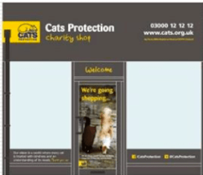 Cats Protection League - is the latest retailer to join Cranleigh Street.