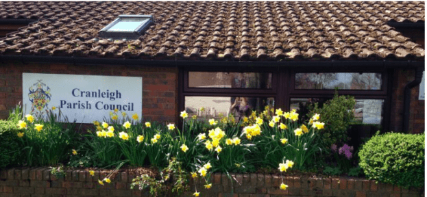 Has the Cranleigh Society taken over the role of the parish council?