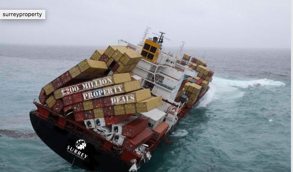 SCC sinking ship