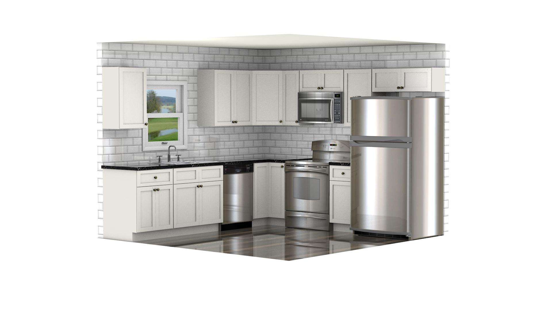 GHI Arcadia Linen Kitchen Cabinets  Waverly Cabinets