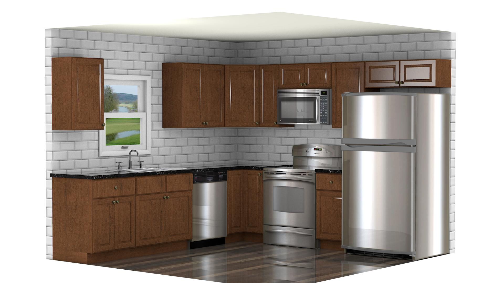 GHI Charleston Traditional Cognac  Waverly Cabinets