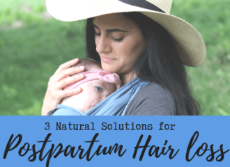 postpartum hair loss remedies and treatments from waves and lilacs