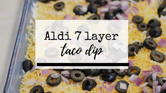 aldi 7 layer dip