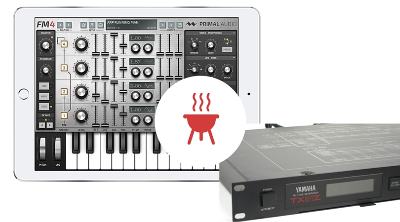 Primal Audio FM4 and Yamaha TX81Z preset matching