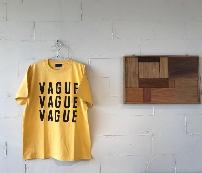 VAGUE S/S TEE // 1975tokyo