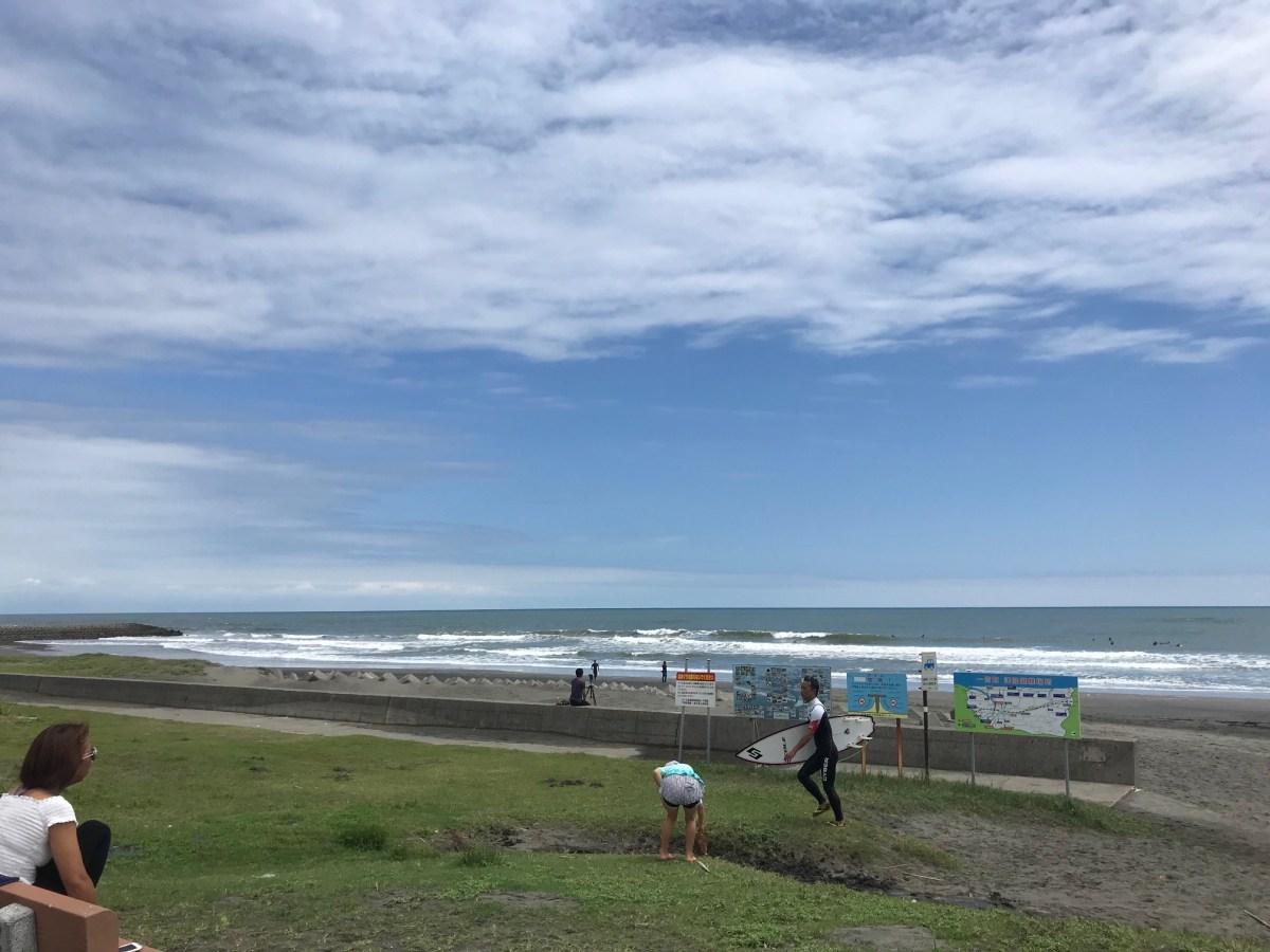 落ち着いていい波でした。