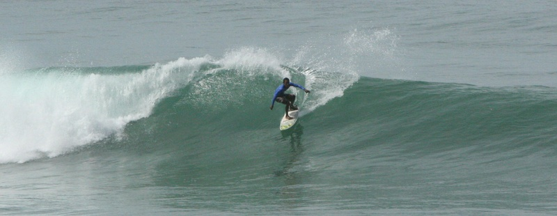 Surfing Playa Samara