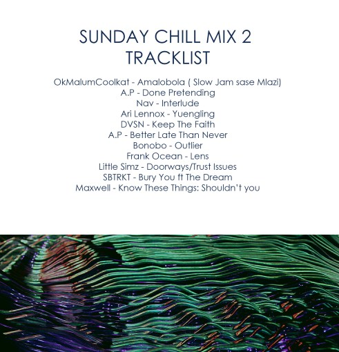 sunday chill mix 2 tracklist