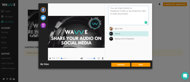Wavve-Video-Sharing