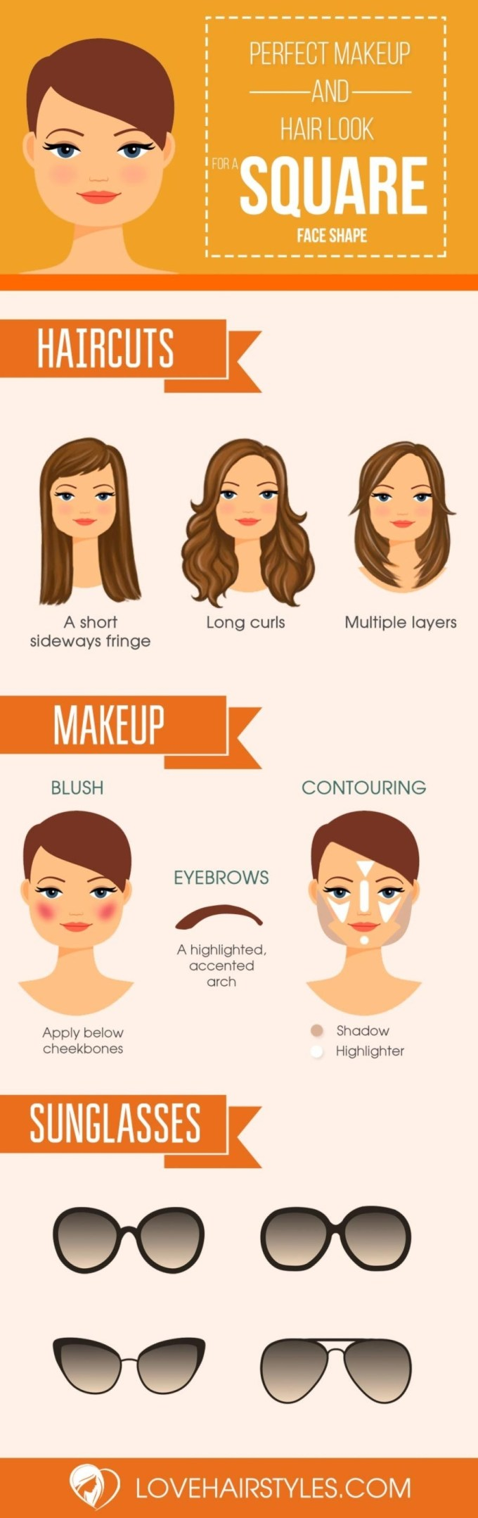 10 Sexy Hairstyles For Square Faces | Makeup | Pinterest | Squares regarding Hairstyle For Square Face Pinterest