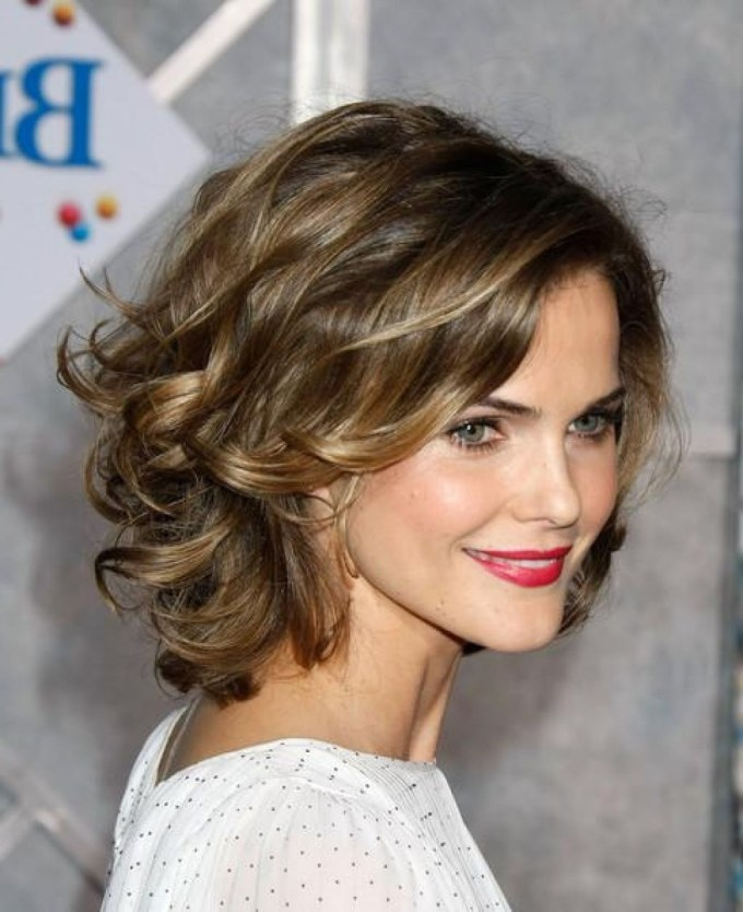 14 Short Hairstyles For Women 2017 | Cury-Wavy-Layered – Hairstyles in Haircut For Thick Fine Hair