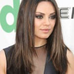 35 Flattering Hairstyles For Round Faces within Haircut For Round Face And Straight Hair