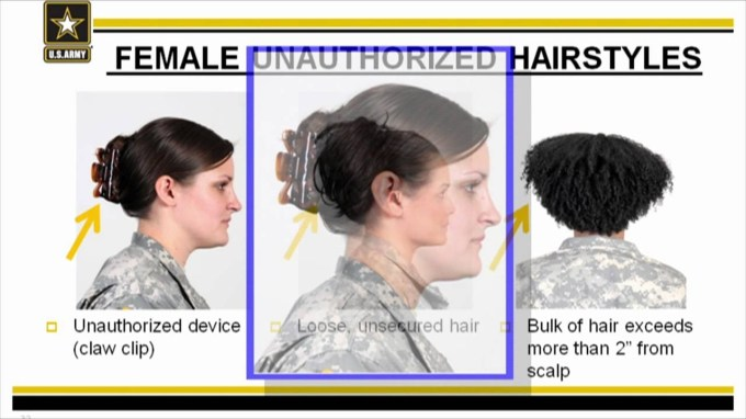 Ar 670-1 Female Grooming Standards - Youtube in Army Haircut Regulations For Females