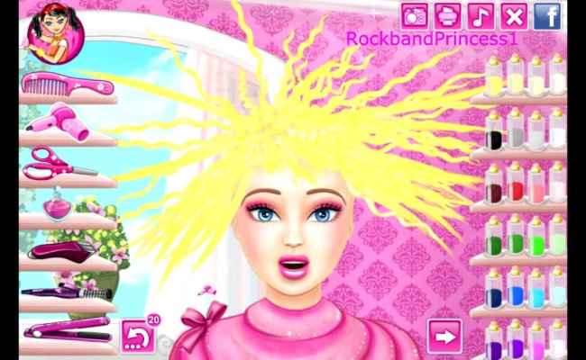 Haircut Salon Games Free Online Wavy Haircut