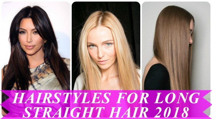Beautiful Hairstyles For Straight Long Hair For Women - Youtube with regard to Haircut Trends 2018 Straight Hair