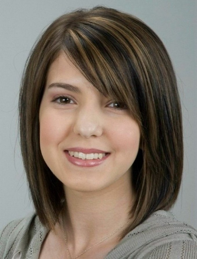 Best-Hairstyles-For-Thin-Hair-And-Round-Face-3 | Hair Styles with Haircut For Thin Hair Chubby Face
