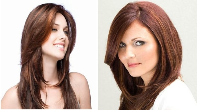 Haircut For Round Face With Long Hair - Youtube for Haircut For Round Face Long Hair